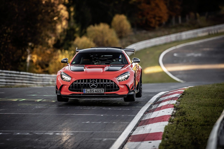 Mercedes-AMG GT Black Series sets fastest production car time at Nürburgring Nordschleife
