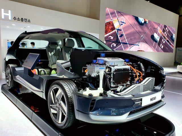 Hyundai NEXO hydrogen fuel cell SUV