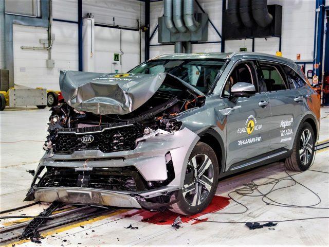 Kia Sorento ANCAP Safety Testing