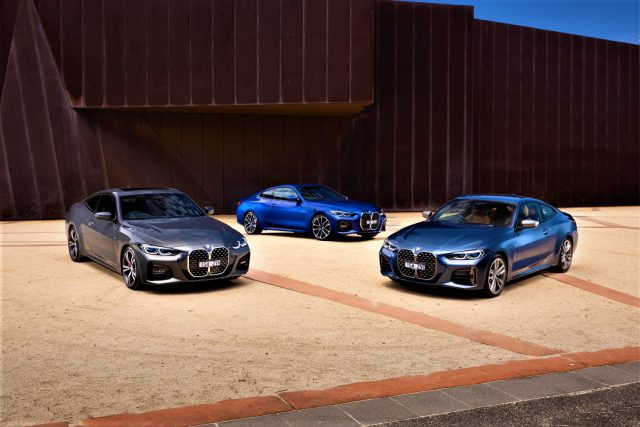 2021 BMW 4 Series range