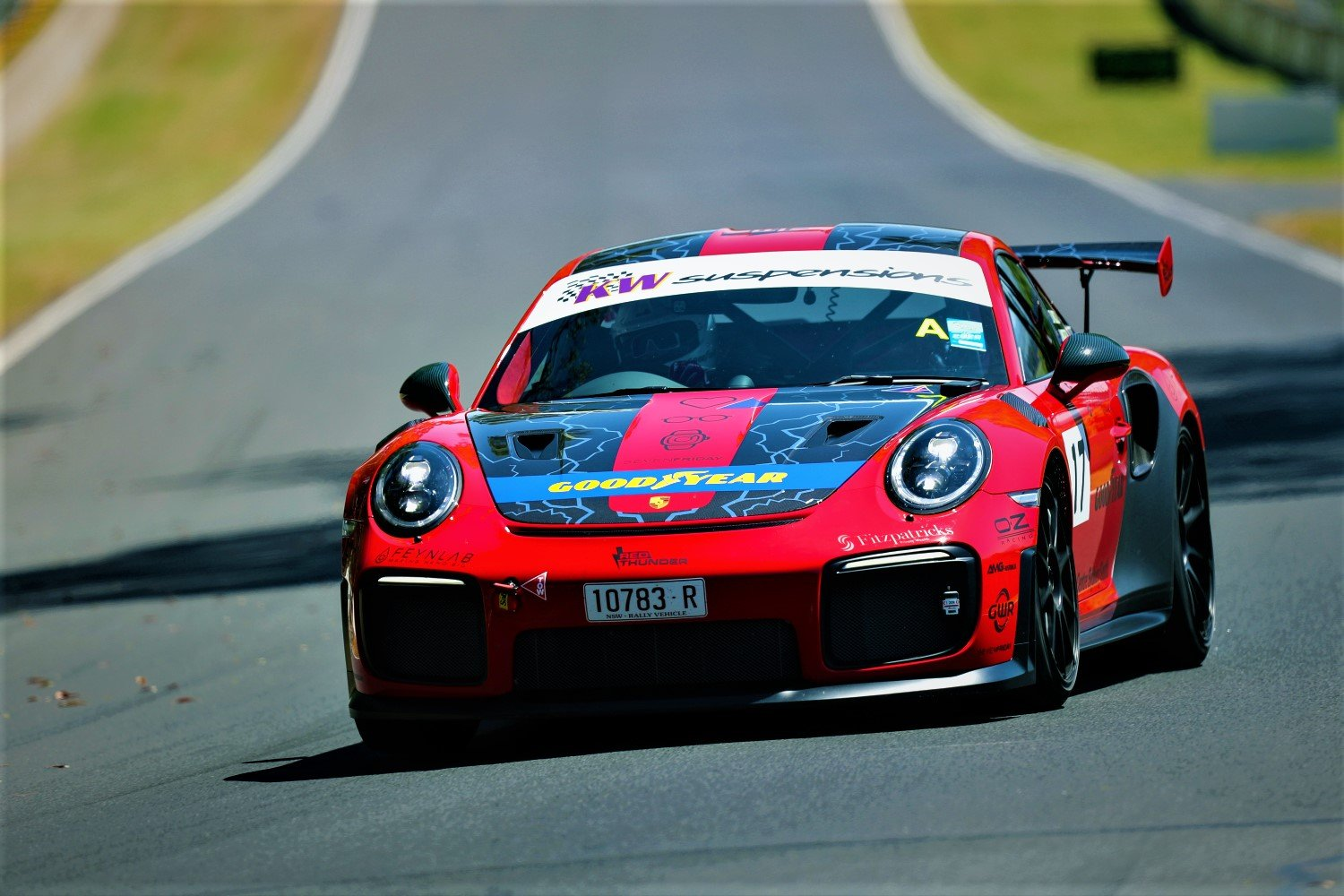 Jeff Morton - Porsche 911 GT2 RS