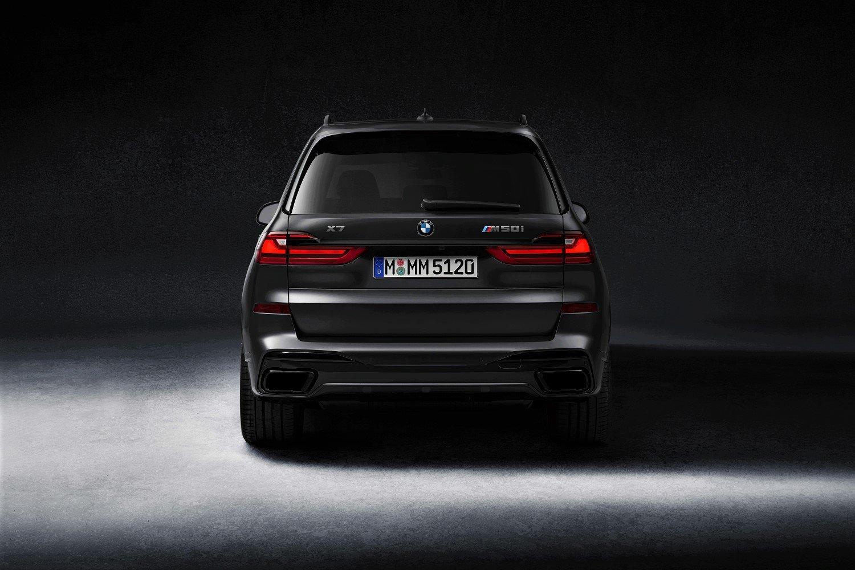 BMW creates a storm with limited edition Dark Shadow X7 SUV