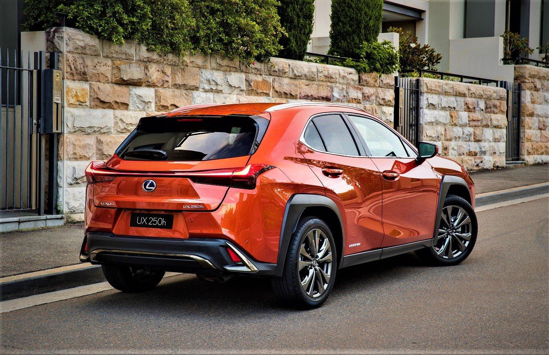 2021 Lexus UX 250h F Sport