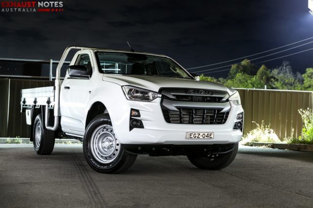 2021 Isuzu D-MAX SX Single Cab Chassis 4x2