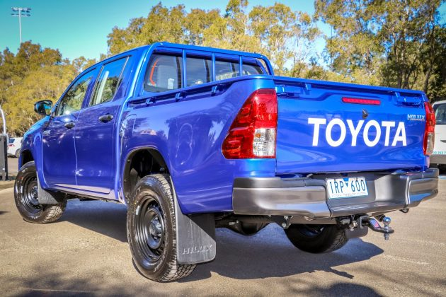 2020 Toyota HiLux Workmate Hi-Rider 4x2 Double Cab