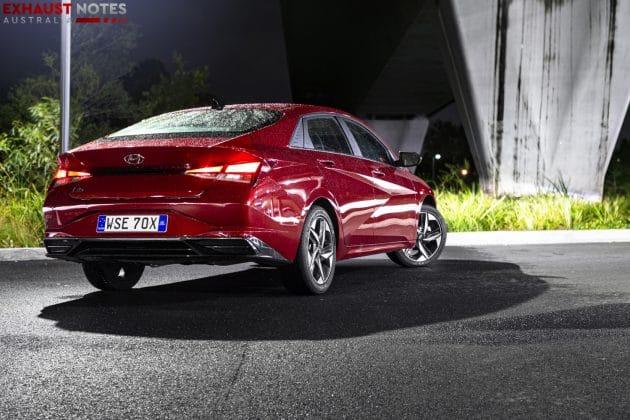 2021 Hyundai i30 Elite sedan