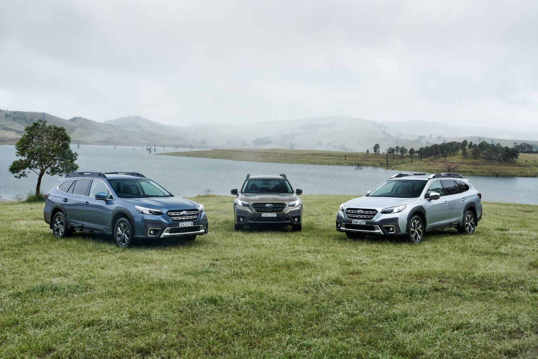 2021 Subaru Outback AWD model range