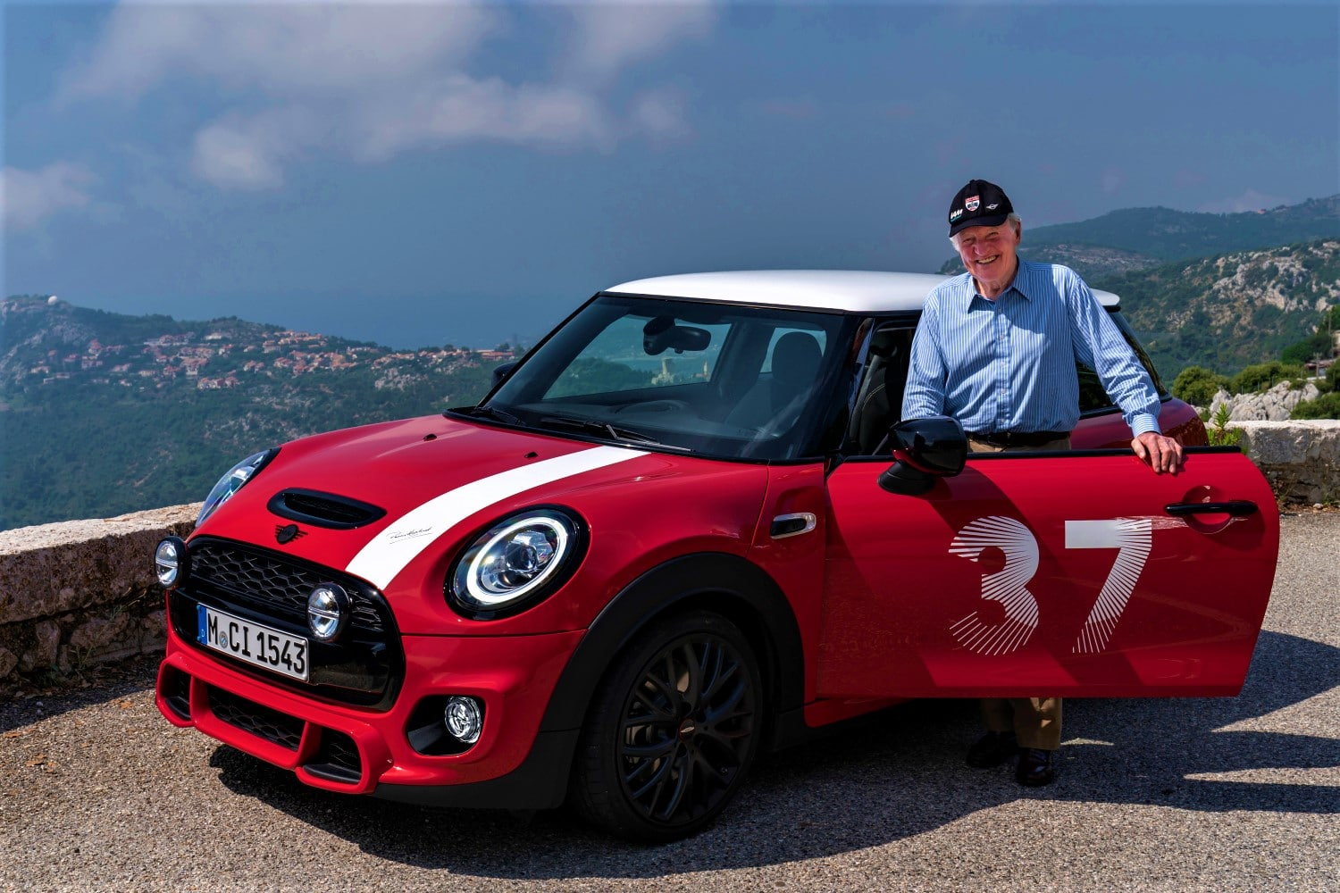 Number 37 back on the starting line; MINI launches Paddy Hopkirk Edition