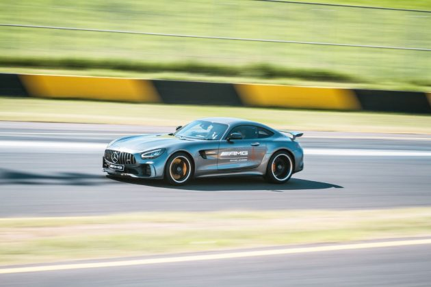 AMG GT R at full nose