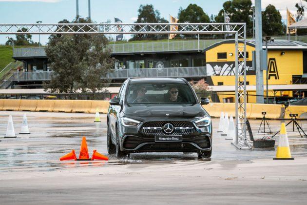 Mercedes-Benz Driving Events Accelerate program