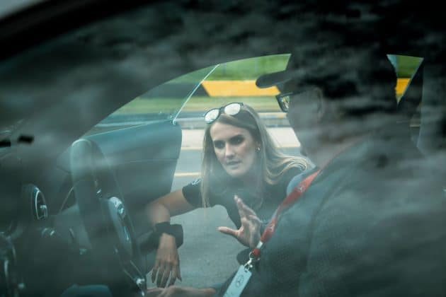 Chelsea Angelo explains the AMG GT R