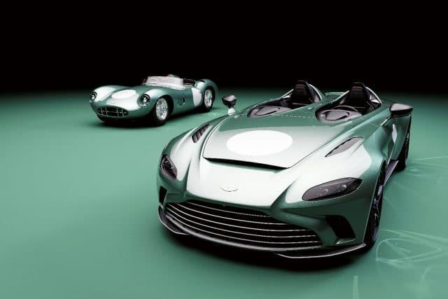 2021 Aston Martin V12 Speedster DBR1 limited edition