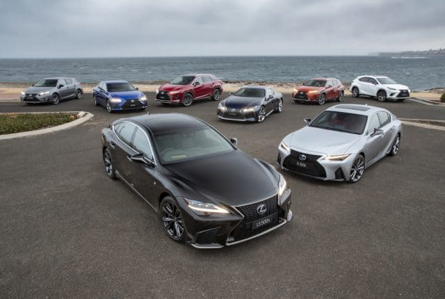 Lexus accelerates electric line-up to become more diversified