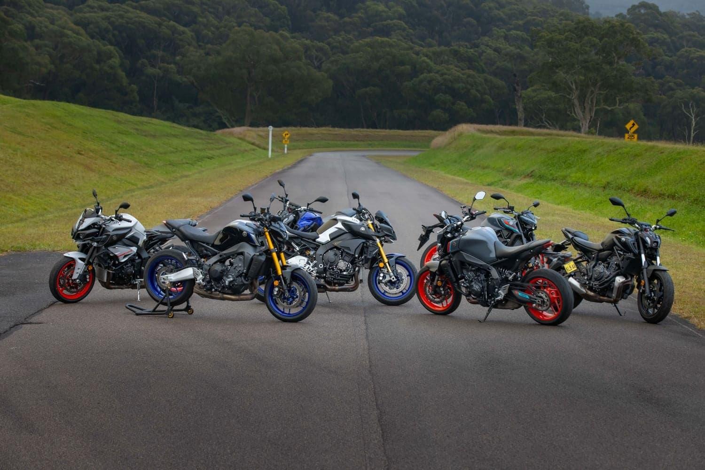 2021 Yamaha MT range