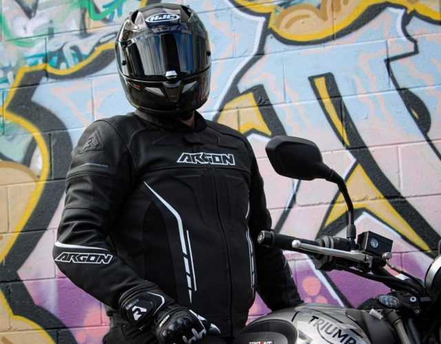 Argon Scorcher Leather Jacket