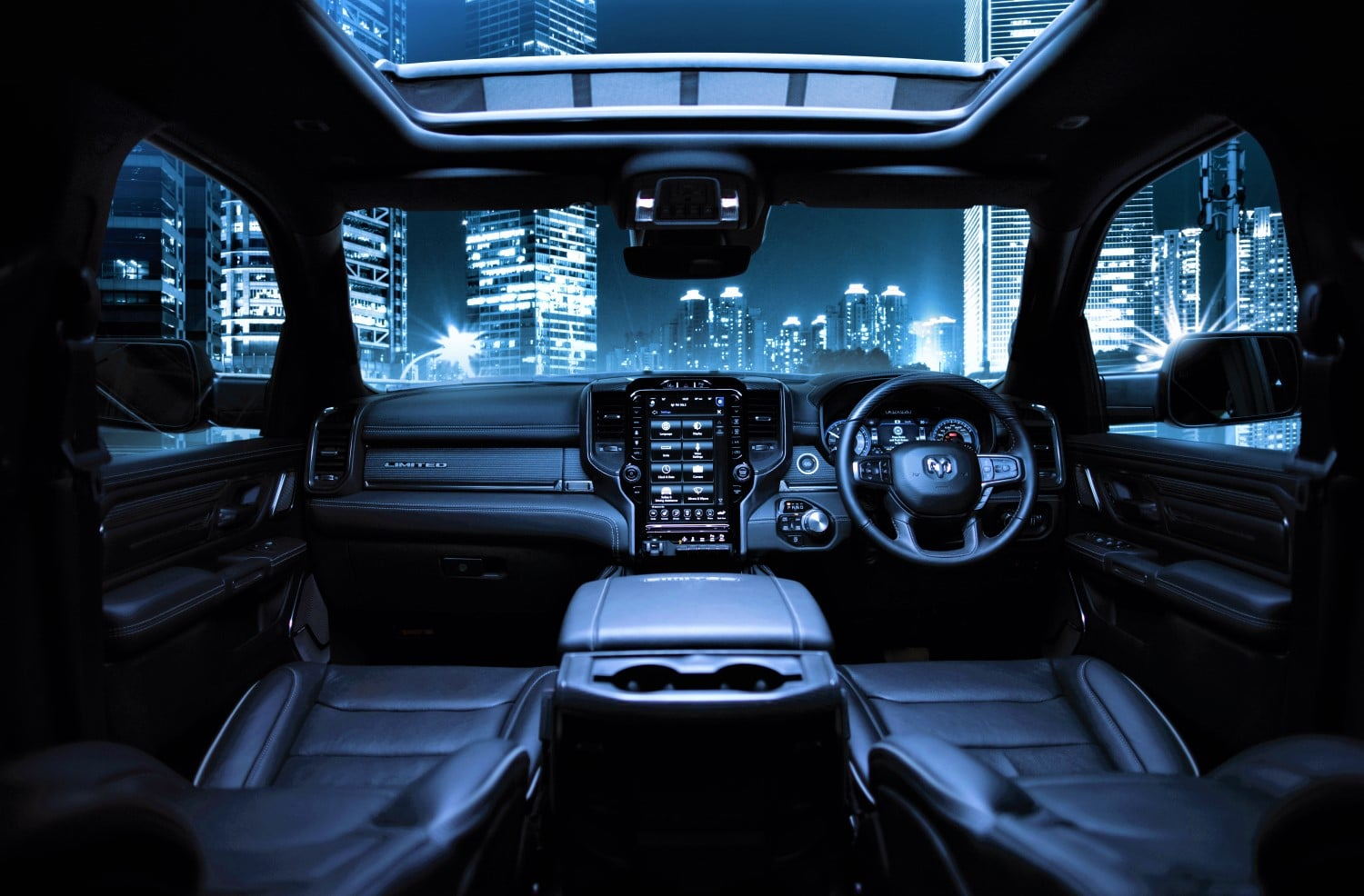 Inside the RAM 1500 Limited