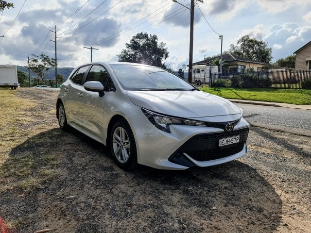 2021 Toyota Corolla Ascent Sport hatch