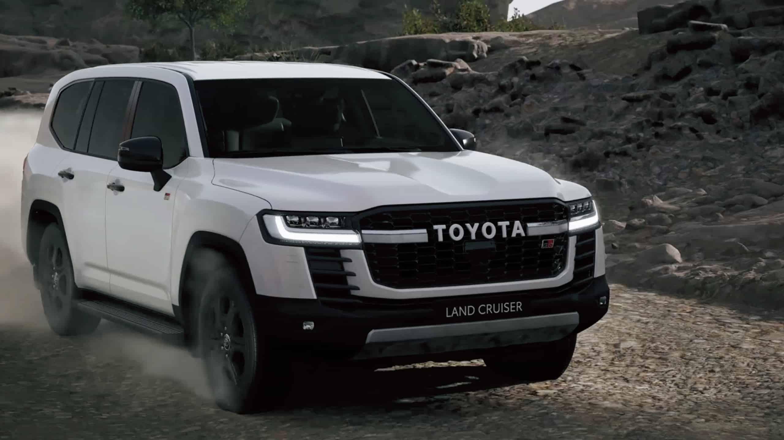 2022 Toyota LandCruiser 300 Series GR Sport