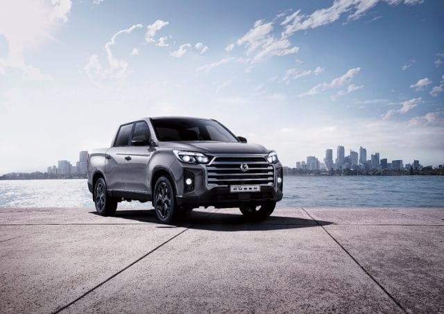 2021 SsangYong Musso 4x4