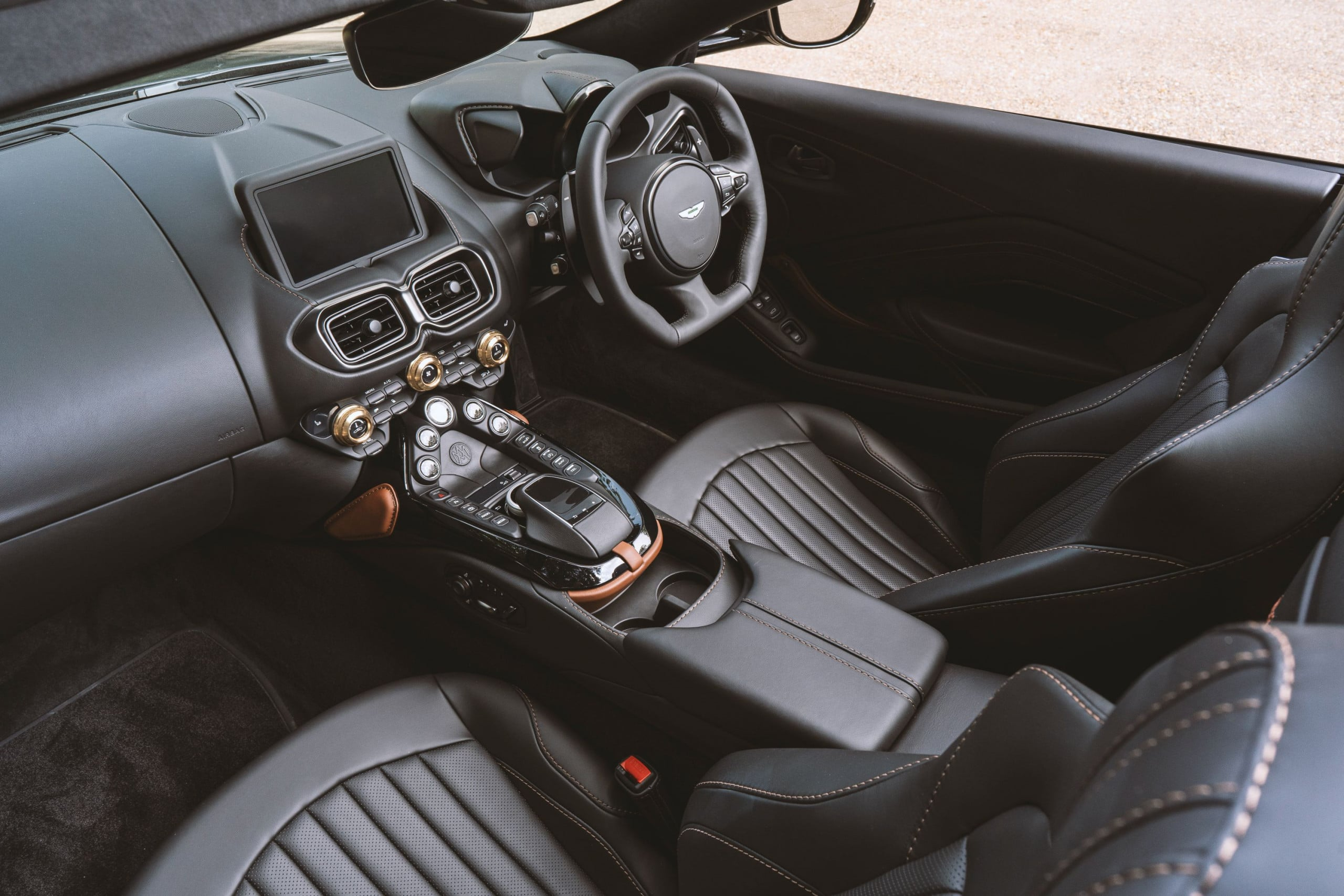 The Q by Aston Martin Vantage Roadster