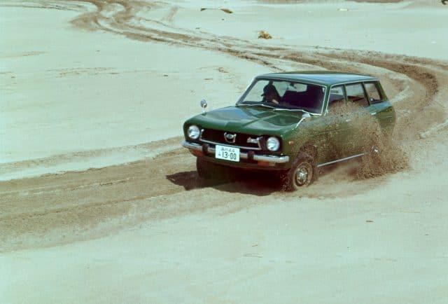 Subaru Leone 4WD Estate Van