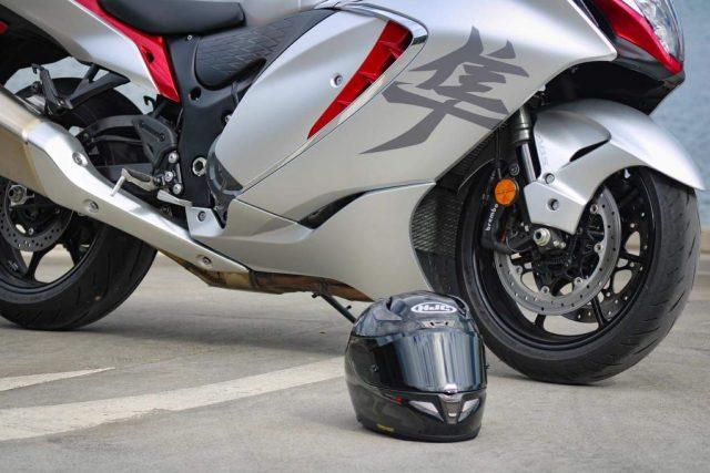 HJC RPHA 11 Carbon Bleer MC5 helmet