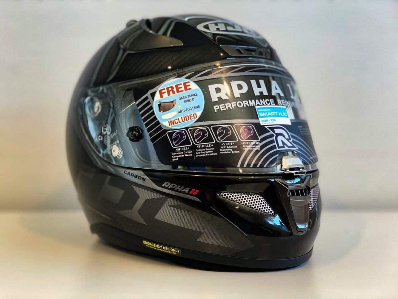 HJC RPHA 11 Carbon Bleer MC-5 helmet
