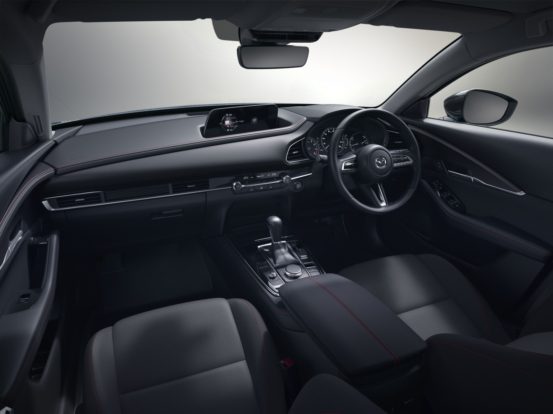 Inside the updated 2021 Mazda CX-30