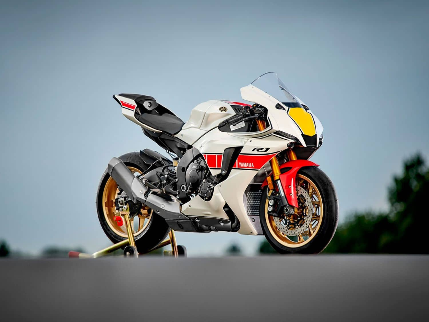2022 YZF-R1SP 60th Anniversary Special Edition Livery