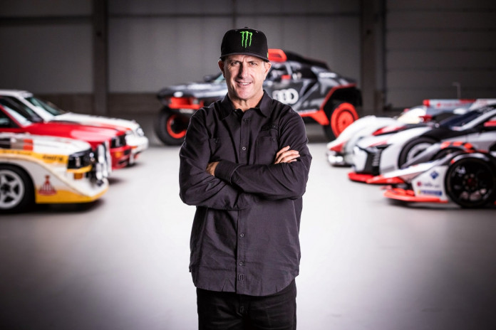 Ken Block joins forces with Audi