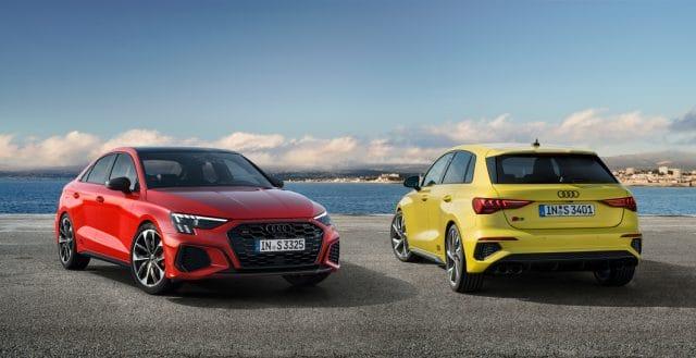 2022 Audi S3 Sedan and Sportback