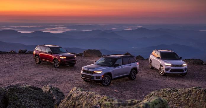 2022 Jeep Grand Cherokee range