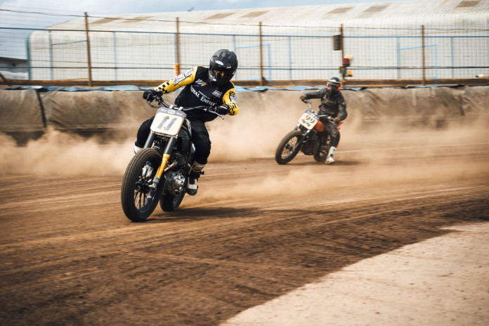 Royal Enfield Flat Track Racing