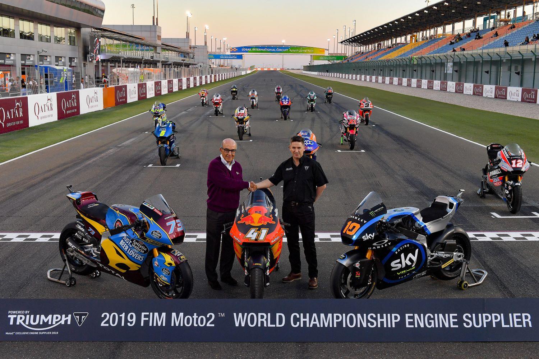 Triumph extends its Moto2 commitment